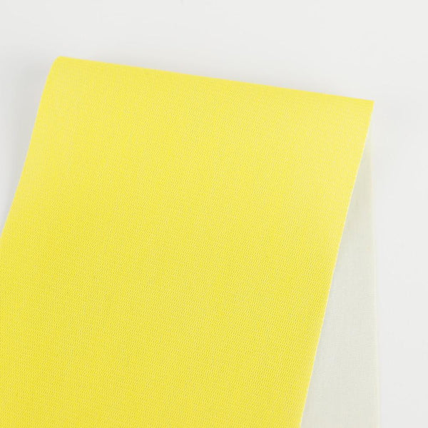 Cotton Backed Mesh - Fluro Yellow