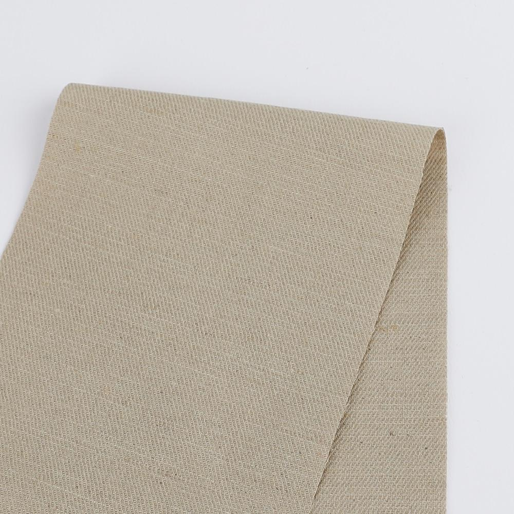 Cotton / Linen Twill - Ecru - buy online at The Fabric Store Online