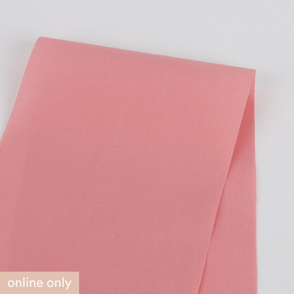 Cotton Shirting - Carnation Pink