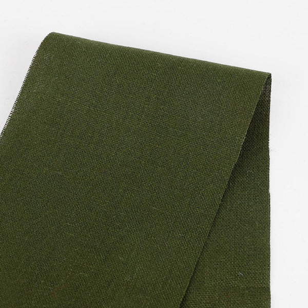 Heavyweight Linen - Military Green