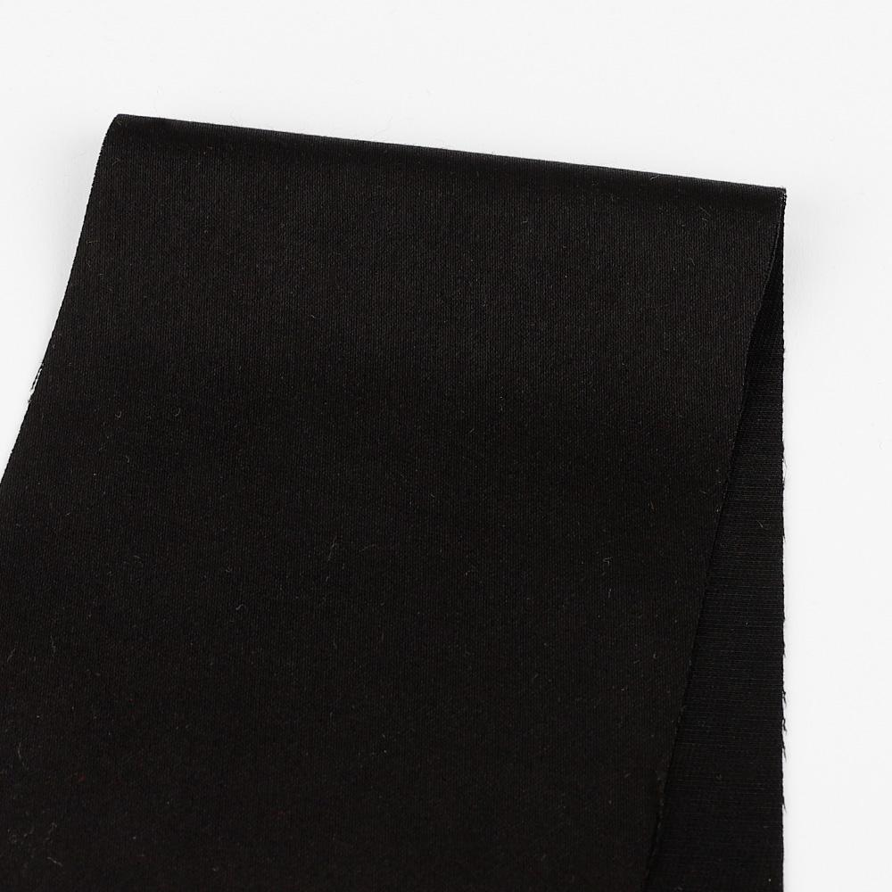 Japanese Sateen Suiting - Black