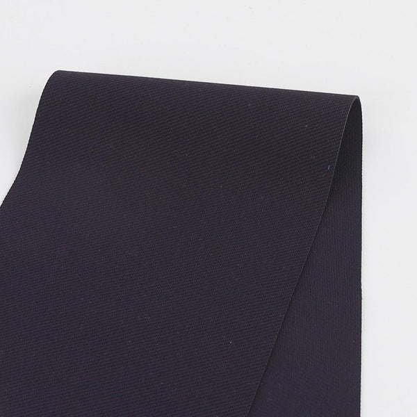 Japanese Twill Ponte Knit - Indigo - buy online at The Fabric Store