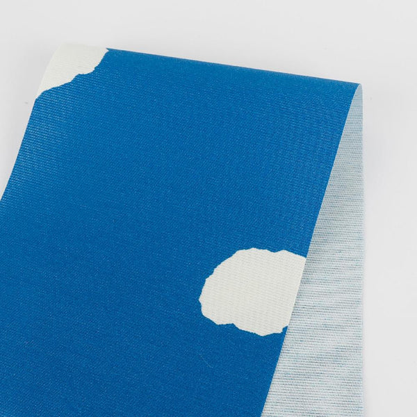Jumbo Spot Cotton / Silk - True Blue
