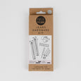 KATM Jeans Hardware Kit - White / Pewter ?id=16140441518161