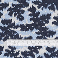 Layered Print Stretch Cotton Jersey - Blue - buy online at The Fabric Store