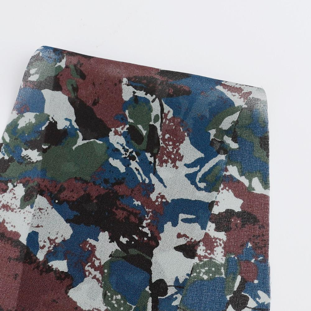 Liberty Lisson Georgette - Rosa Camo / A - Buy online at The Fabric Store ?id=16419215736913