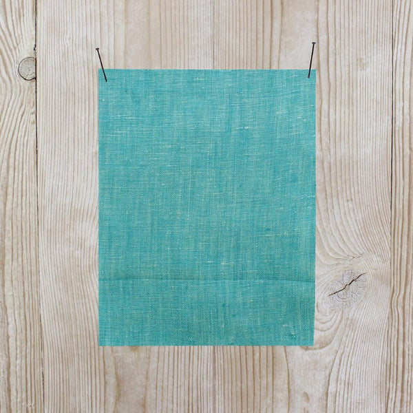 Linen Chambray - Verdigris - buy online at The Fabric Store
