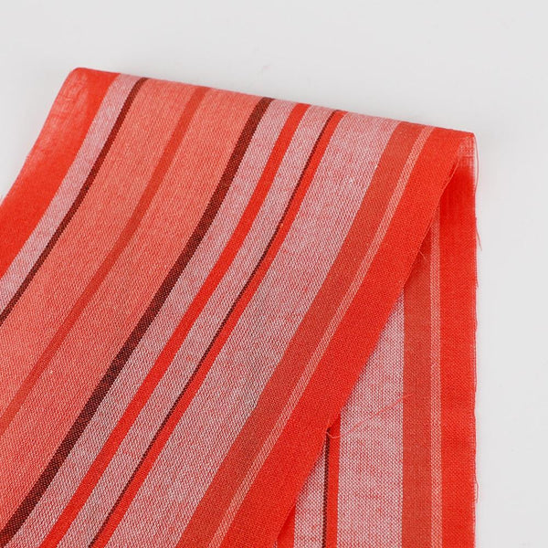 Multi Stripe Cotton Batiste - Red ?id=16575832883281