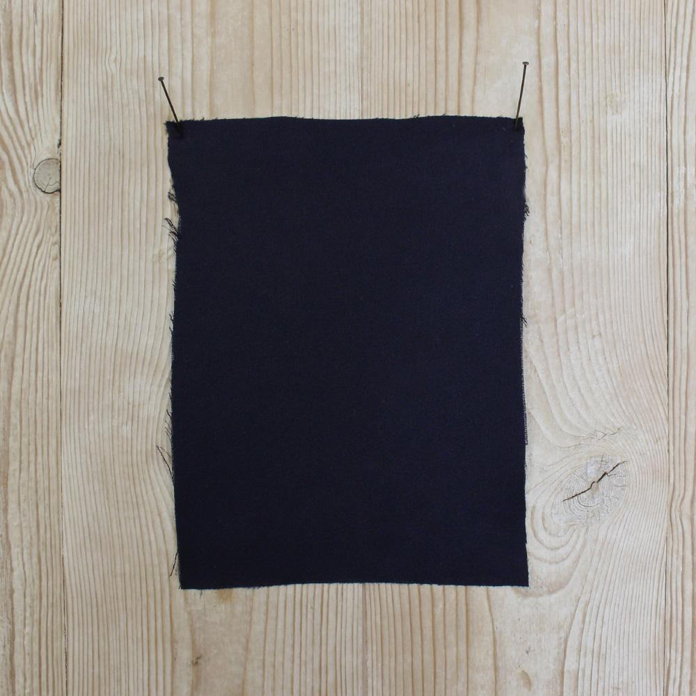 Viscose Satin Backed Crepe - Navy - buy online at The Fabric Store