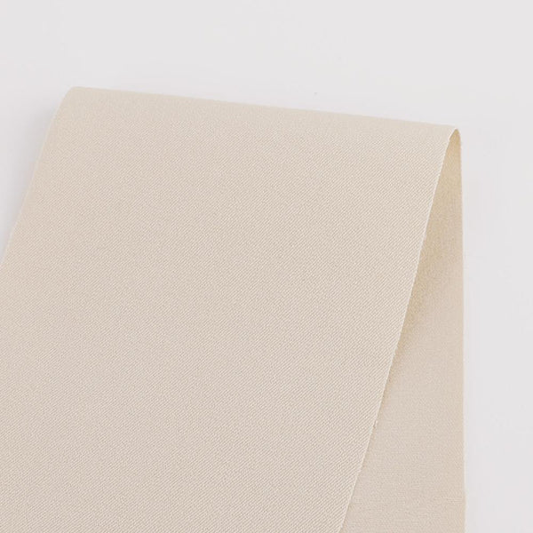 Heavyweight Stretch Cotton Twill - Soy