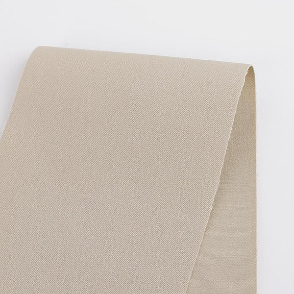 Heavyweight Stretch Cotton Twill - Ecru