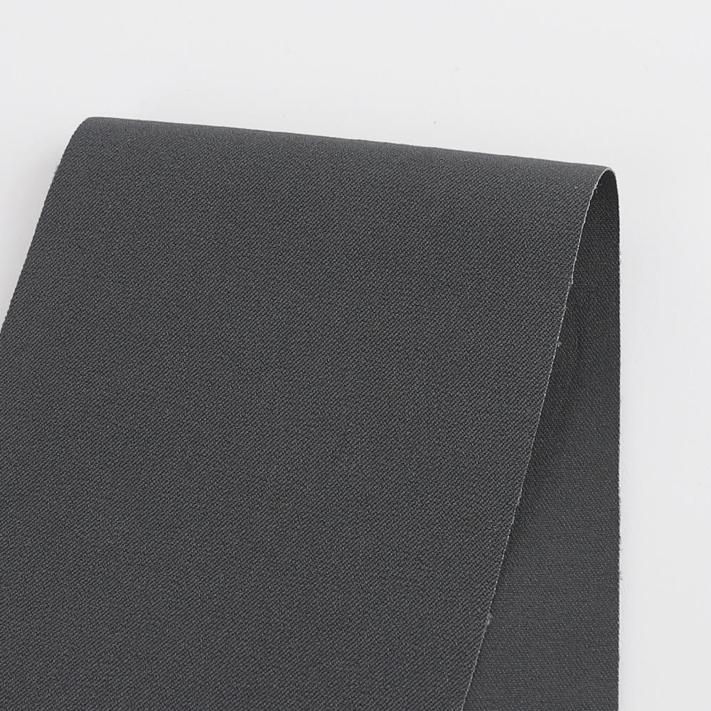 Heavyweight Stretch Cotton Twill - Shark