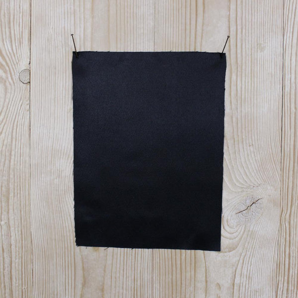 Stretch Viscose Satin - Black - buy online at The Fabric Store