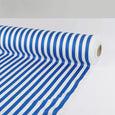 Poly Satin Bengal Stripe - Blue - Buy online at The Fabric Store ?id=16423588692049