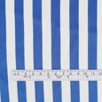 Poly Satin Bengal Stripe - Blue - Buy online at The Fabric Store ?id=16423588724817
