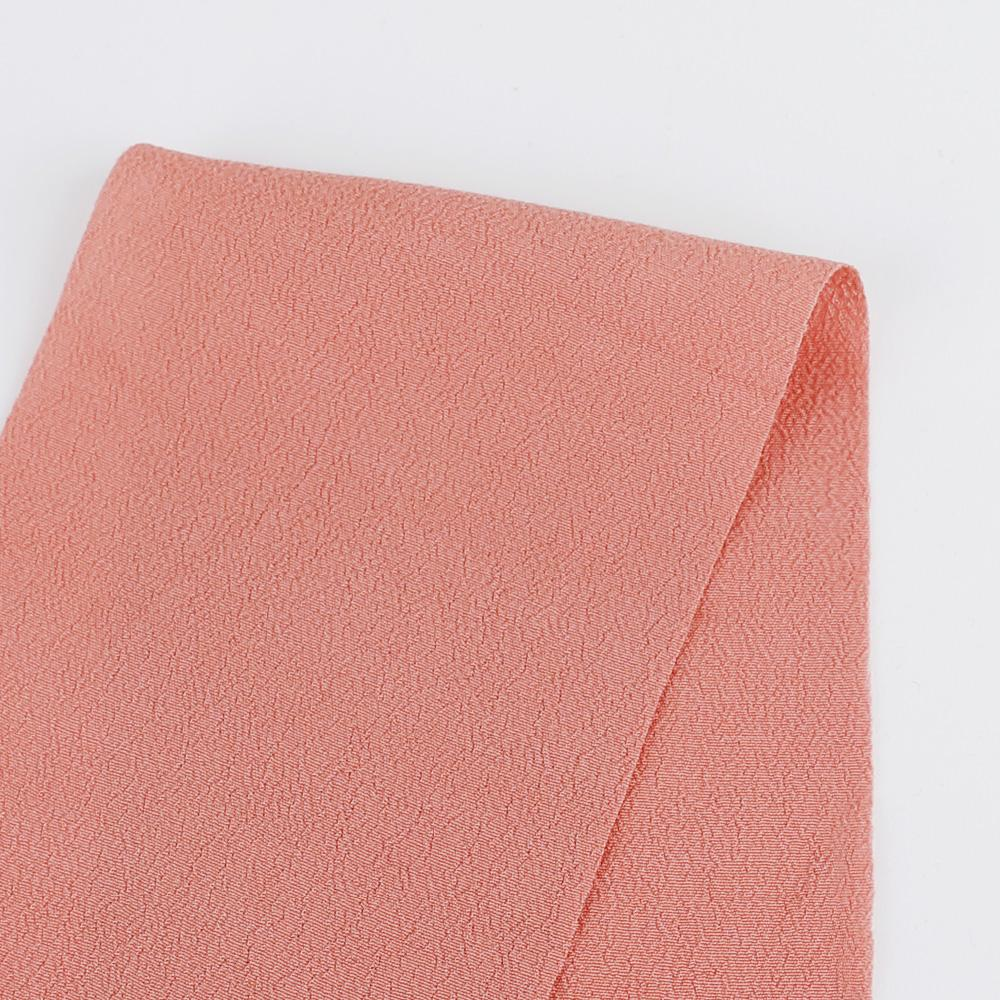Rayon Crepe - Salmon - Buy online at The Fabric Store