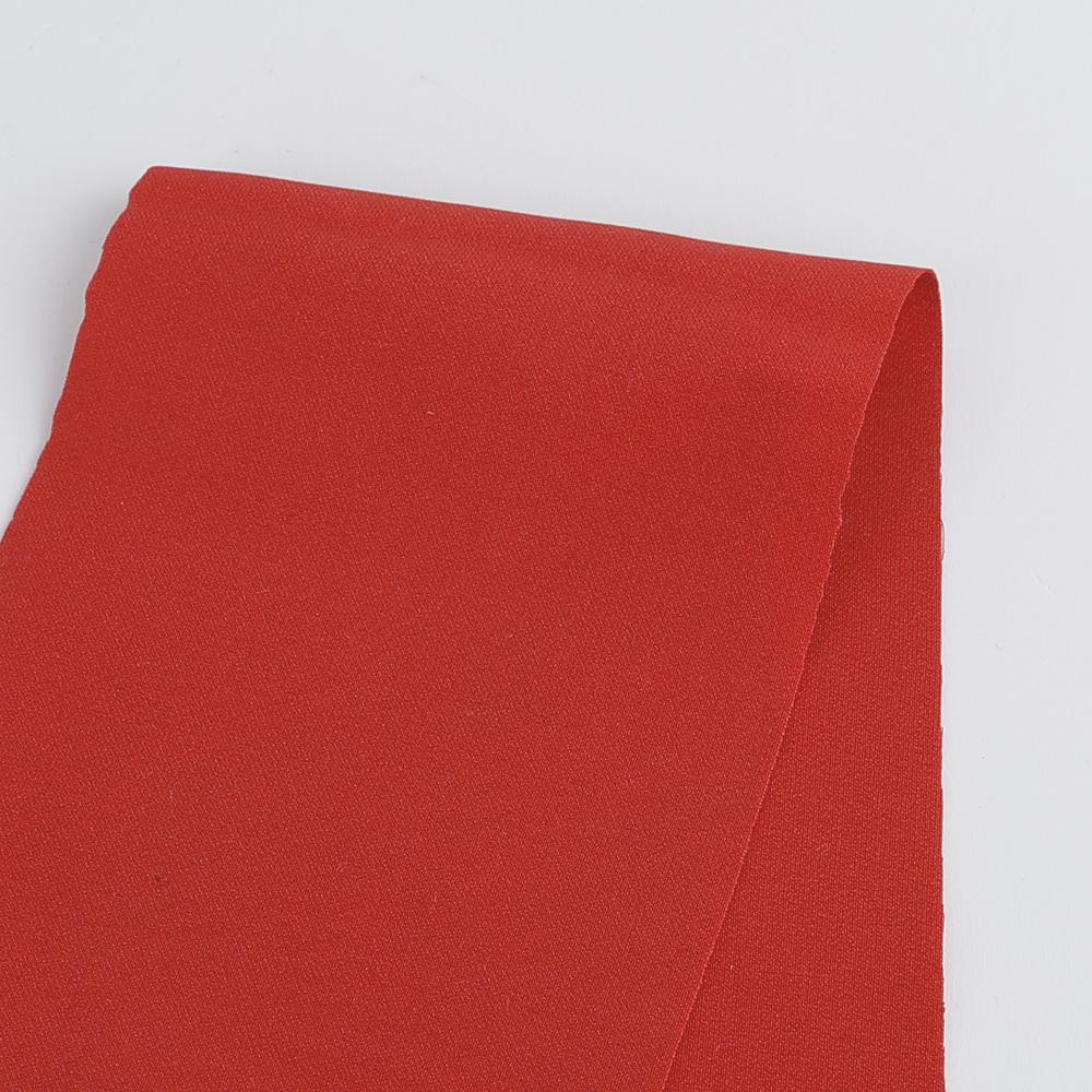 Satin Backed Crepe - Red - buy online at The Fabric Store