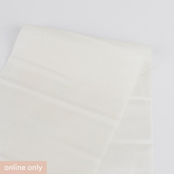 Silk / Cotton Voile - Ivory