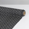 Dotted Diamond Stretch Silk - Black ?id=15617324875857