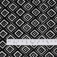 Dotted Diamond Stretch Silk - Black ?id=15617324908625