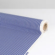 Striped Silk Crepe De Chine - Royal Blue ?id=16198202327121