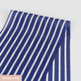 Striped Silk Crepe De Chine - Royal Blue ?id=16261271355473