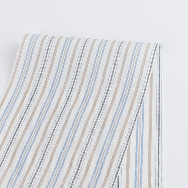 Sunday Stripe Cotton Shirting - Buy Online at The Fabric Store ?id=16390827376721