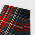 Tartan Cotton Shirting - Red Mix - buy online at The Fabric Store