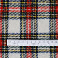 Japanese Wool Blend Tartan - Chalk Mix ?id=27951067824209
