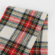 Japanese Wool Blend Tartan - Chalk Mix ?id=27951067856977