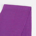 Textured Stripe Merino Blend Jersey - Purple