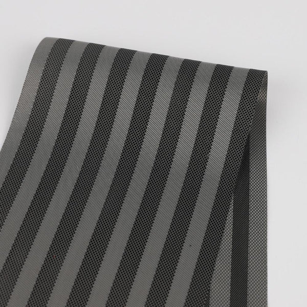 Twill Stripe Poly Lining - Grey