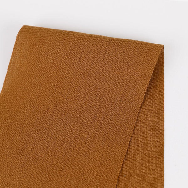 Vintage Finish Linen - Ochre - buy online at The Fabric Store ?id=14422297575505