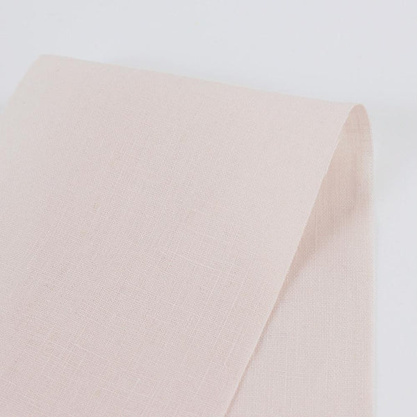 Vintage Finish Linen - Shell - buy online at The Fabric Store