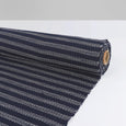Weft Stripe Tweed - Navy / White - buy online at The Fabric Store ?id=16403599229009