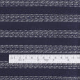 Weft Stripe Tweed - Navy / White - buy online at The Fabric Store ?id=16403599196241