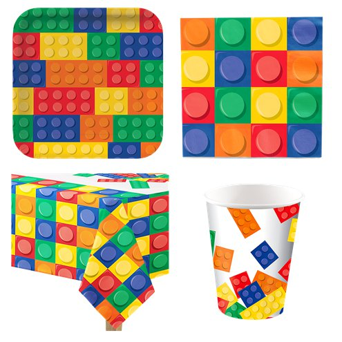 Lego Party Pack - Pack for 8
