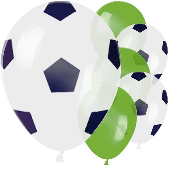 Football Party Balloons x6