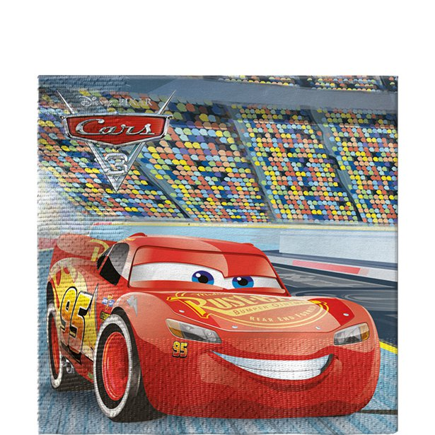 Cars Party Deluxe Pack - 8