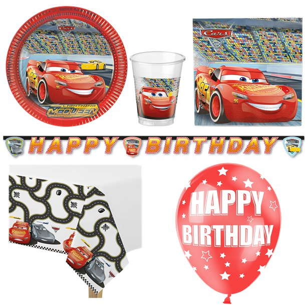 Cars Party Deluxe Pack 16