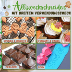Lade das Bild in den Galerie-Viewer, Cookie King™ Pro - 3D-Ausstecherstempel (4 Stück / Set)