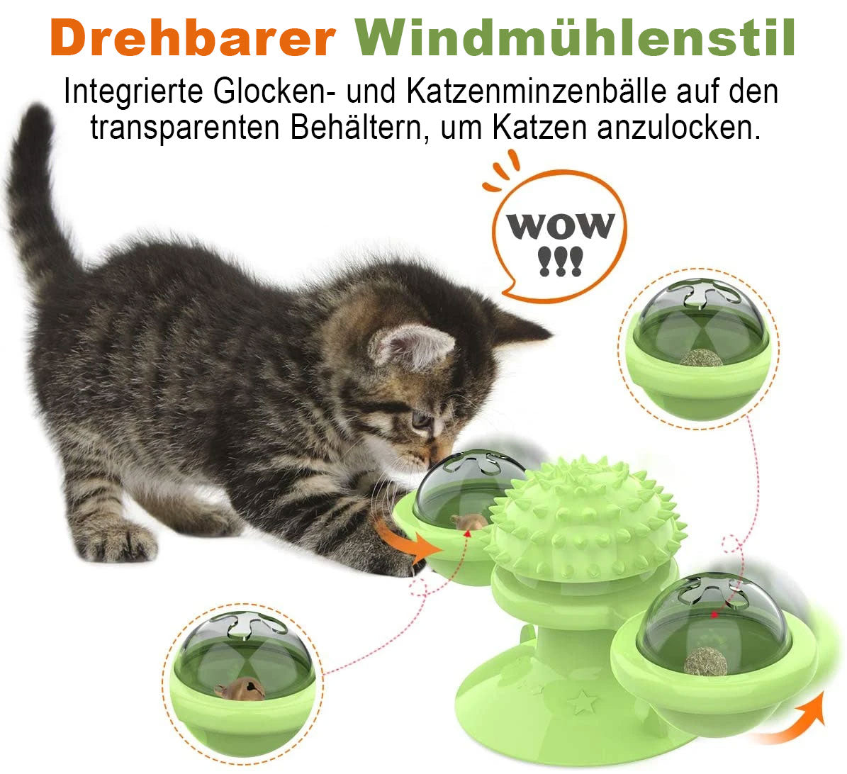 Windmill Cat Toy™ 2.0