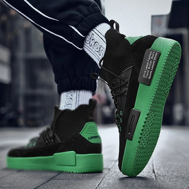 BigFeet™ 2.0 - Atmungsaktive High-Top-Sneaker