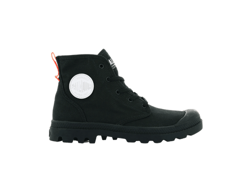 PALLADIUM - PAMPA HI TWILL BLACK/BLACK