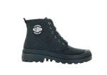 PALLADIUM - PAMPA AVENUE HIGH GLIT BLACK/BLACK