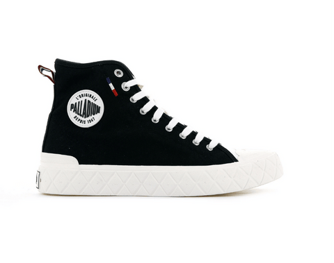 PALLADIUM - PALLA ACE CANVAS MID BLACK