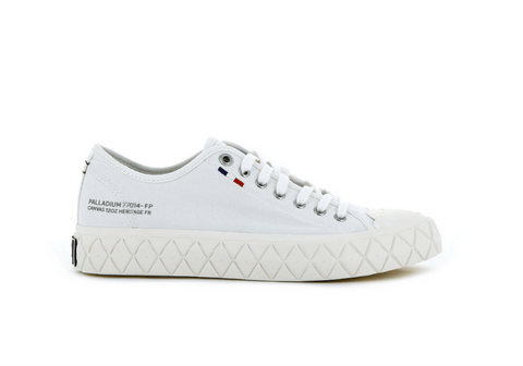 PALLADIUM - PALLA ACE CANVAS STAR WHITE