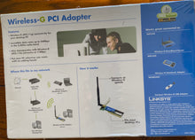 Load image into Gallery viewer, Linksys Wireless-G PCI Adapter (Model No. WMP54G)