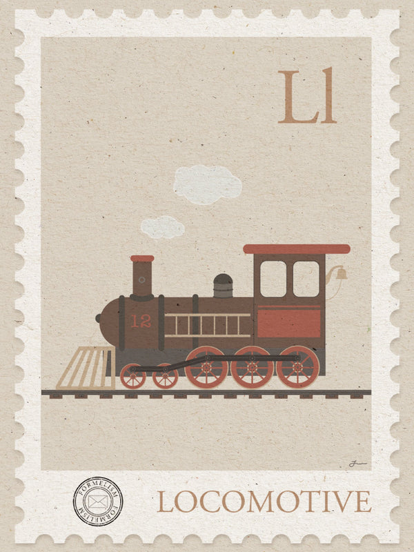 You have got mail locomotive