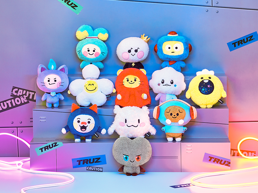 TRUZ HIKUN STANDING DOLL MEDIUM – LINE FRIENDS COLLECTION STORE